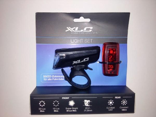 Batterie-Beleuchtungsset 30 Lux
